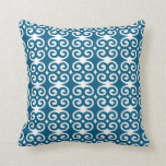 Patternaholic Humility Blueberry Swirl Pillow