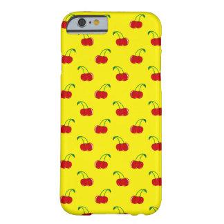 Patterncase amarillo de la cereza