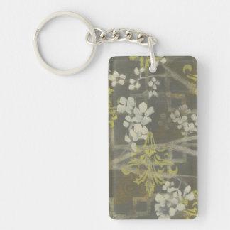 Patterned Blossom Branch I Keychain