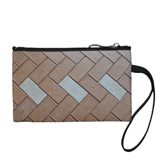Patterned Bricks For Texture Coin Wallet