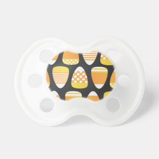 Patterned Candy Corn Pacifier