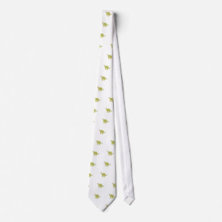Patterned Cat Neck Tie