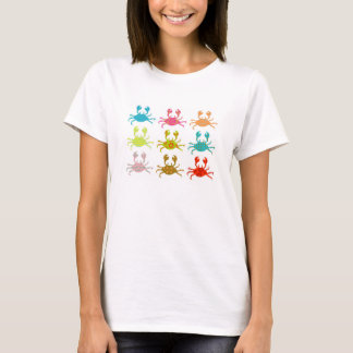 Patterned Crabs T-Shirt