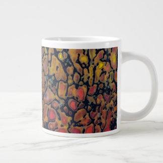 Patterned Dinosaur Bone Giant Coffee Mug