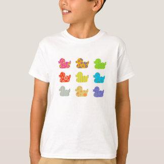 Patterned Ducks T-Shirt
