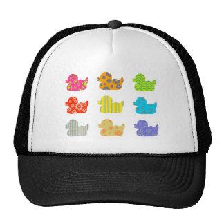 Patterned Ducks Trucker Hat