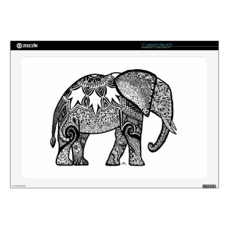 Patterned Elephant Skin For Laptop