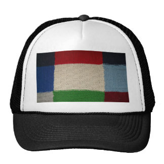 Patterned Fabric Trucker Hat