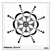 Patterned Floral Wall Sticker