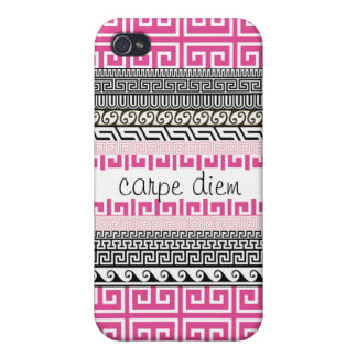 Patterned iPhone 4 Case: Seize the Day iPhone 4/4S Case