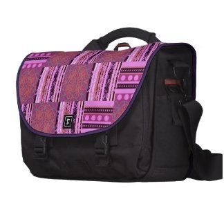Patterned Laptop Bag