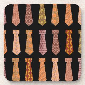 Patterned Neckties Coasters