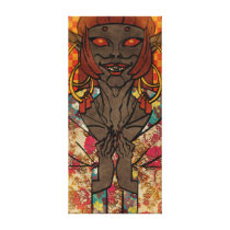 Patterned Oni Canvas Print