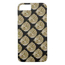 patterned owl iPhone 8/7 case
