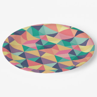 Patterned Paper Plates