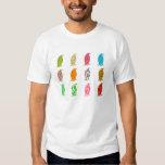Patterned Penguins T-shirt