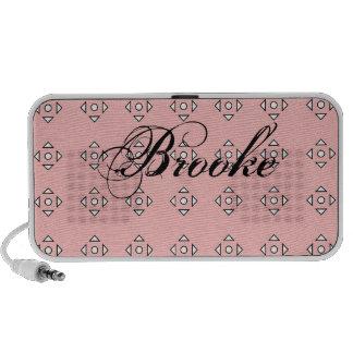 Patterned Pink Doodle Speaker