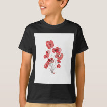 Patterned Poppies T-Shirt