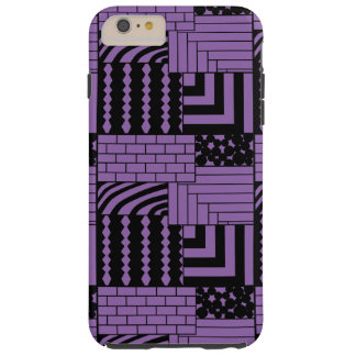 Patterned Rectangles Tough iPhone 6 Plus Case
