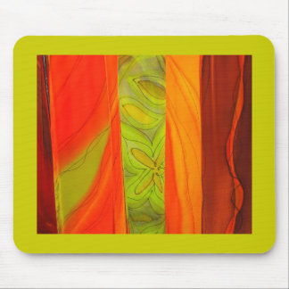 Patterned Scarves Mouse Pad