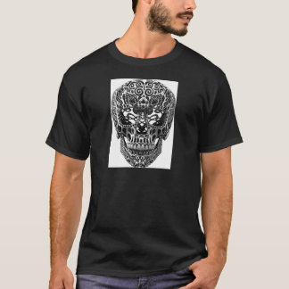 Patterned Skull.png T-Shirt