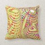 Patterned Swirl Design Pillow