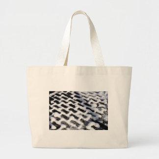patterned walkway large tote bag
