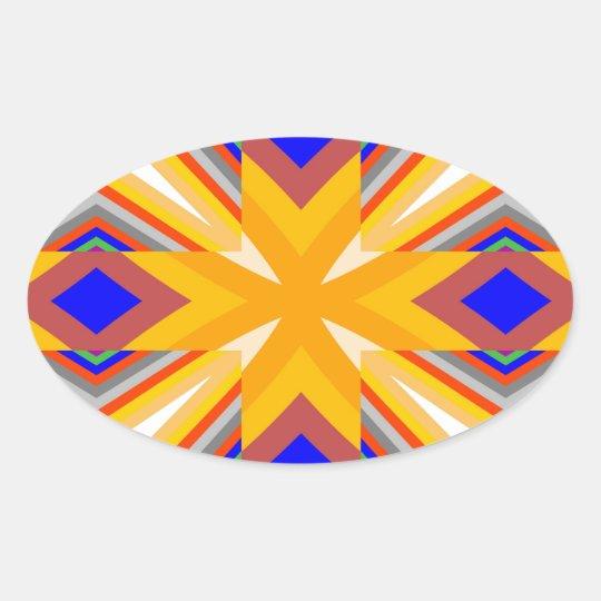 Patternizer Pegatina Ovalada