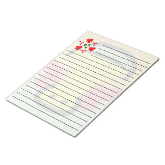 Patternn colorido abstracto moderno blocs de notas