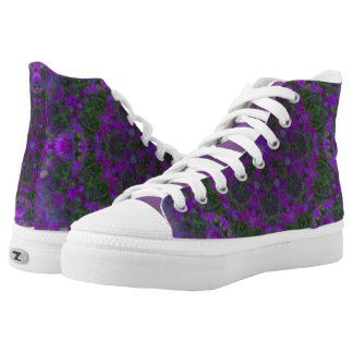Patterns4Nature photography  nature  landscapes  d High-Top Sneakers