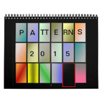 Patterns and designs calendar
