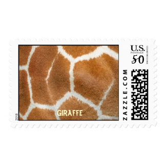 Patterns and Shapes of a Giraffe's Skin Coat Postage