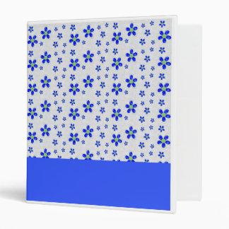 Patterns| Blue Flowers III Binder