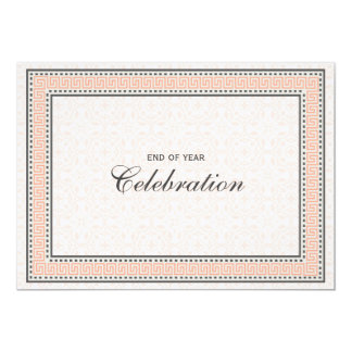 "Patterns & Borders 1 - Corporate Party Invitation 5"" X 7"" Invitation Card"