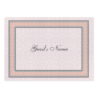 Patterns & Borders 1 Dinner Place Card Business Card