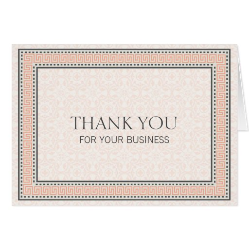 Patterns & Borders 1 Thank You For Your Business