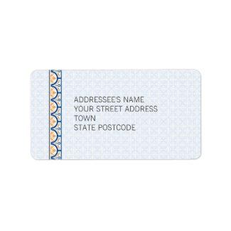 Patterns & Borders 2 Address Label label