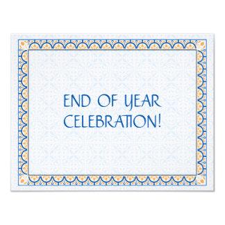 """Patterns & Borders 2 - Corporate Invitation Small 4.25"""" X 5.5"""" Invitation Card"""