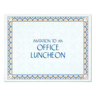 office lunch invitations zazzle