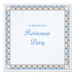 Patterns & Borders 2 Retirement Party Invitation