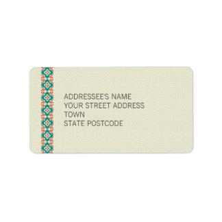 Patterns & Borders 3 Address Label