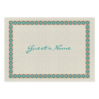 Patterns & Borders 3 Dinner Place Cards Business Card