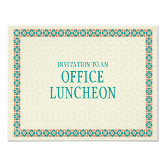 Patterns & Borders 3 Office Lunch Invitation