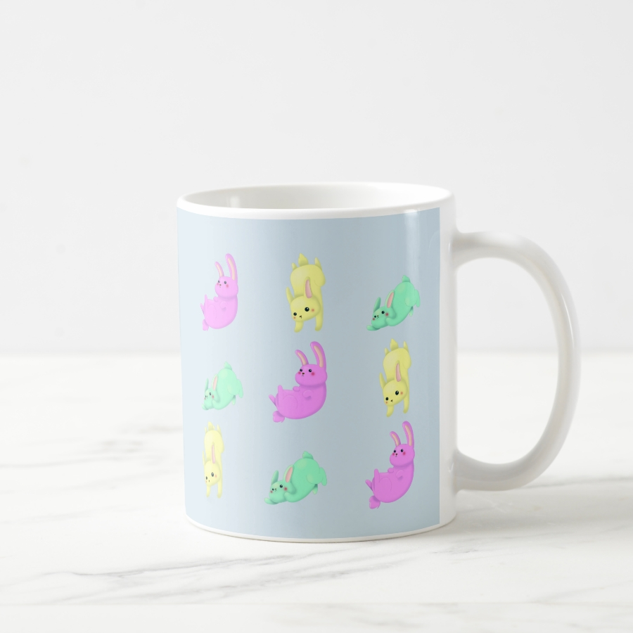 Patterns Bunny Coffee Mug - Stylish, Designer Drinkware With Unlimited Creativity