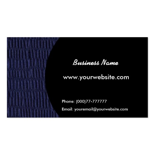 Patterns Business Card