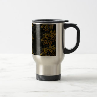 patterns design travel mug