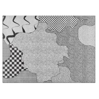 Patterns Galore Cutting Board