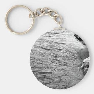 Patterns in the Sand Basic Round Button Keychain