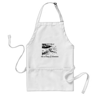 Patterns Of Emergence (Dalmatian Optical Illusion) Adult Apron