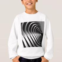 Patterns of metal sweatshirt
